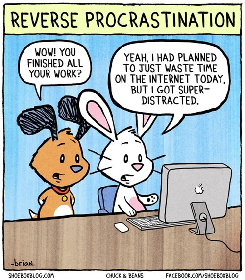 procrastination,internet,comics