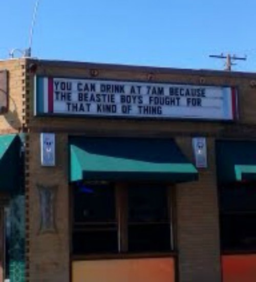 beastie boys fight for your right to party signs