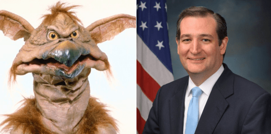 Doppelgänger list politics totally looks like ted cruz
