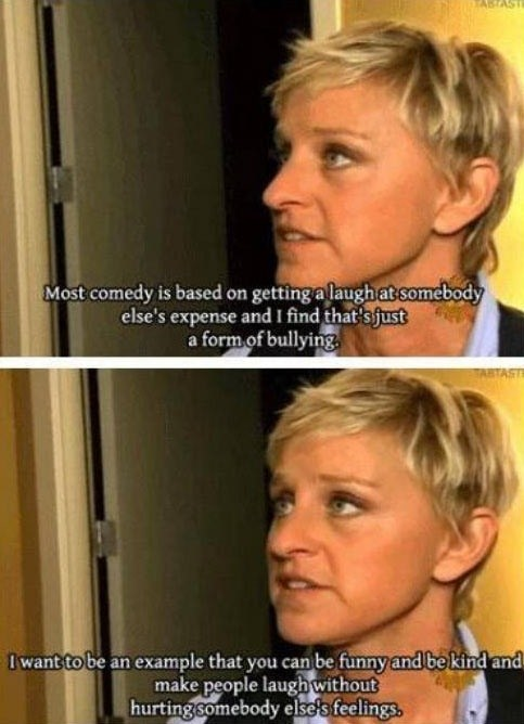 comedy ellen degeneres quote - 7265613824