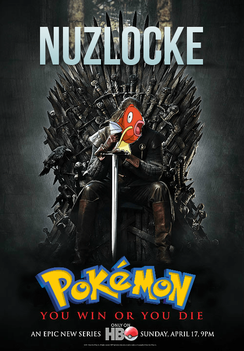 Pokémon Game of Thrones mashups nuzlocke - 7265617664