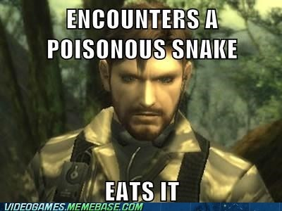 image macros snakes video games metal gear - 7266032640