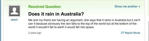 australia yahoo answers rain - 7266308096