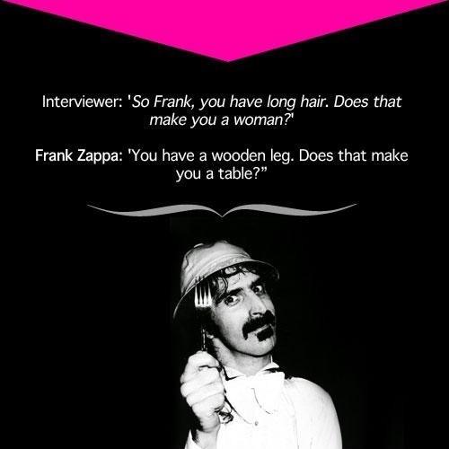 frank zappa quote - 7266628608