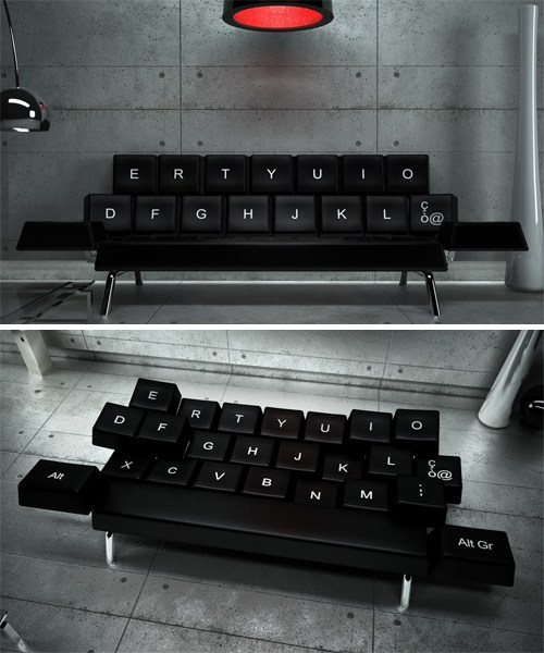 Shut Up and Take My Money of the Day: The QWERTY Sofa