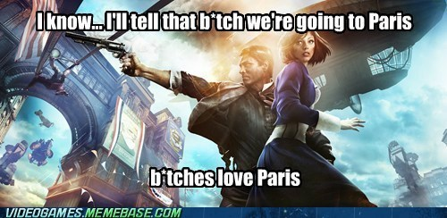 paris,bioshock infinite,Elizabeth