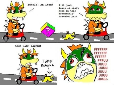 banana bowser mario kart 64 nintendo - 7267586560