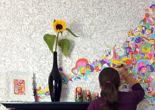 design wallpaper pretty colors - 7267784960