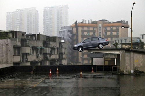 cars,only in china,parking