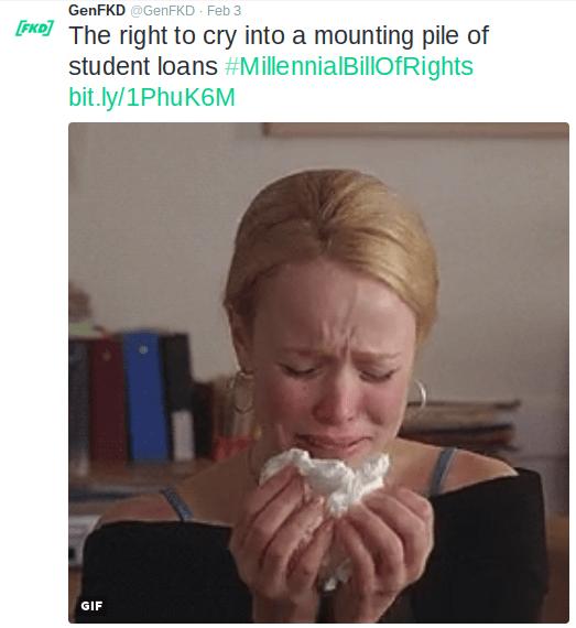 millennials baby boomers tweets