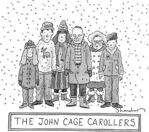 comics john cage christmas carollers - 7268382208