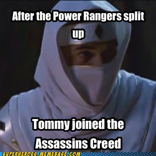 power rangers,assassins creed,GI Joe