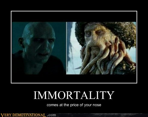 Harry Potter voldemort pirates of the carribean immortality