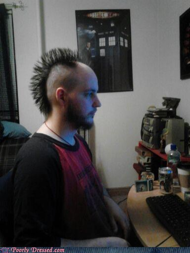 hair,mohawks,balding