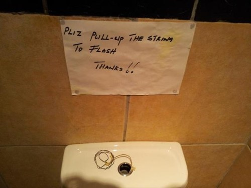 signs there I fixed it toilets - 7271738112