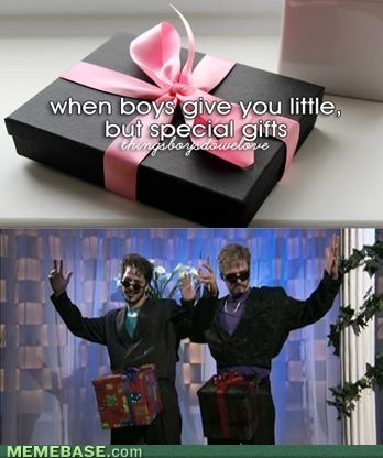 gifts,things boys do,d in a box