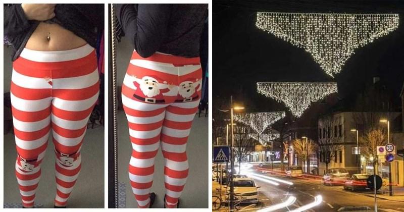 cover image of Christmas design fails, funny