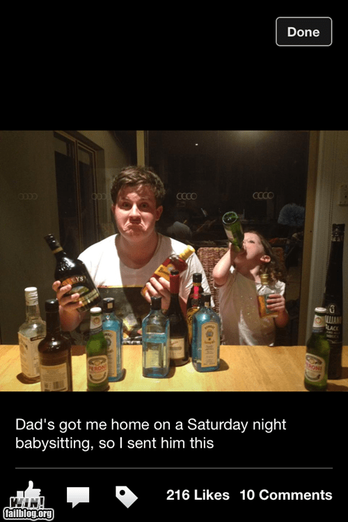 drunk g rated Parenting FAILS - 7274363392