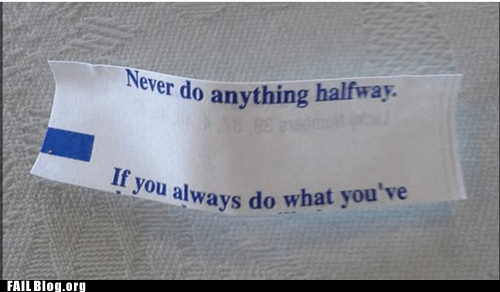 fortune cookie irony - 7279494656