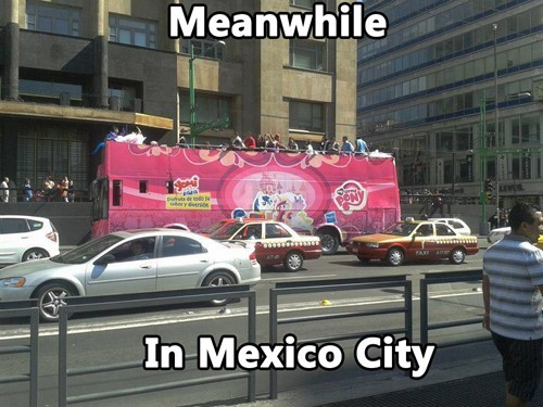 mexico,my little pony,Mexico City