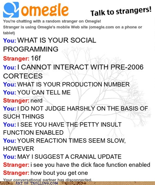 Omegle programming robots androids