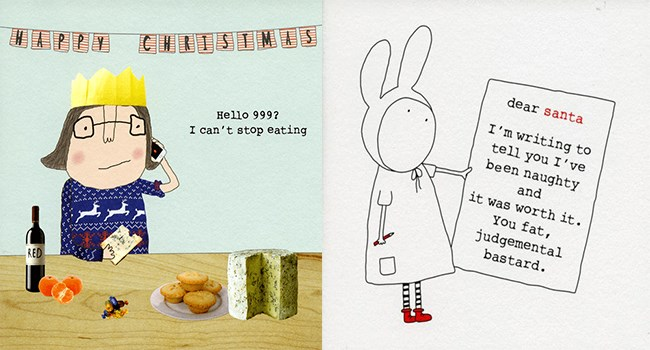 christmas christmas cards funny rude - 7280389