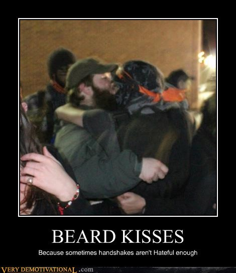 gross,kissing,beards