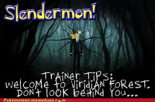 slender man pikachu slender - 7282671616