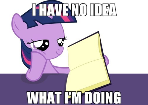 twilight sparkle books i have no idea what im doing - 7283410688
