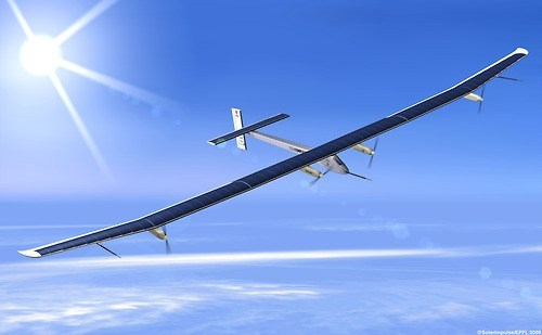 science,solar panel,airplane