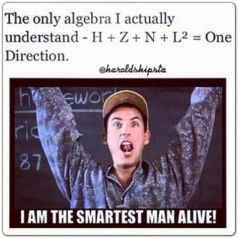 one direction,wtf,smart,math