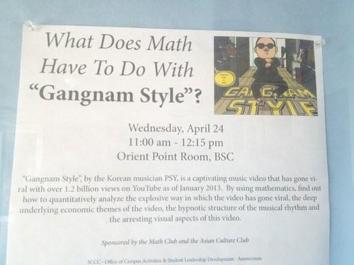 odd gangnam style math - 7285216768