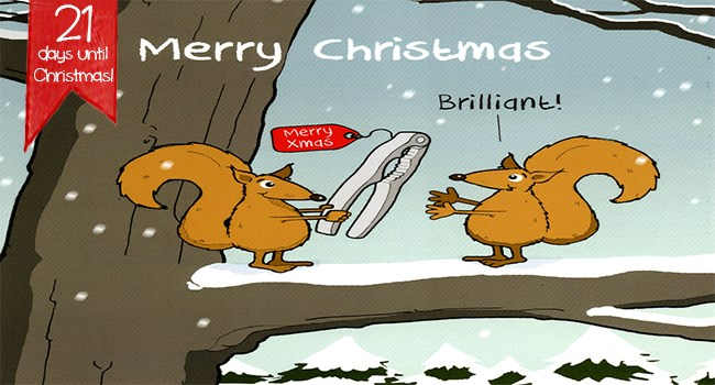 animal comics cards funny christmas christmas cards animals - 7285765