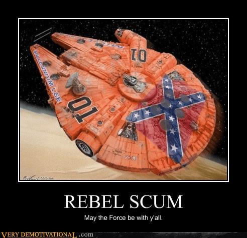 star wars dukes of hazzard redneck Han Solo - 7288622336
