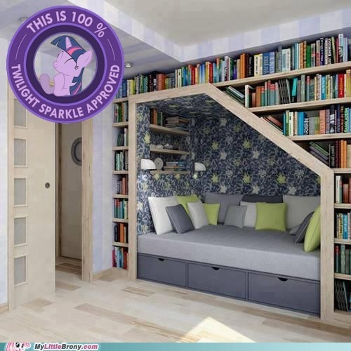 bed IRL twilight sparkle books - 7288673280