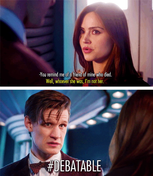 clara oswin oswald debatable doctor who - 7288769024