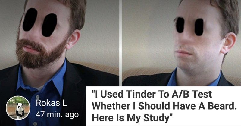 Tinder Study With Or Without A Beard