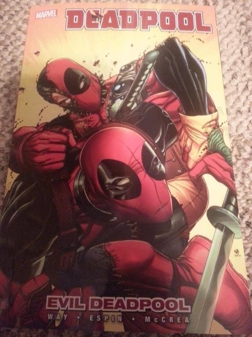 deadpool,evil,off the page