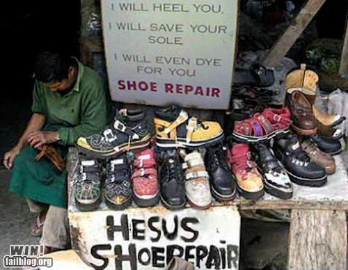 shoes puns g rated win - 7289228288