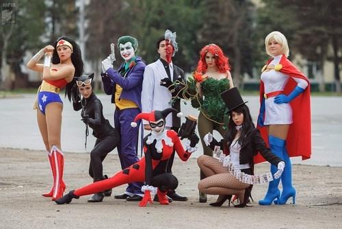 joker wonder woman power girl costume - 7289259520