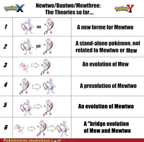 mew Pokémon theories newtwo mewtwo newmew - 7292153600