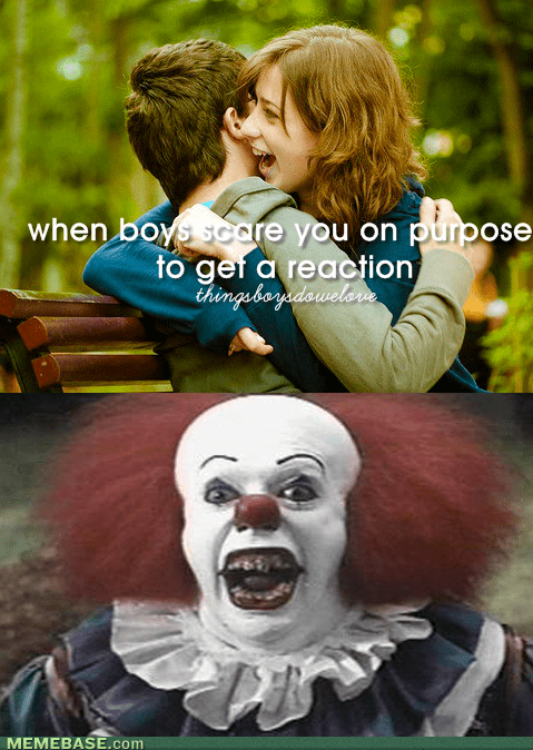 clowns,it,things boys do