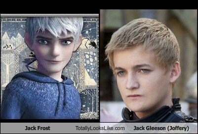 joffery totally looks like jack gleeson jack frost