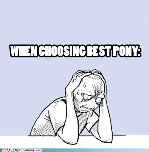 spike ponies decisions