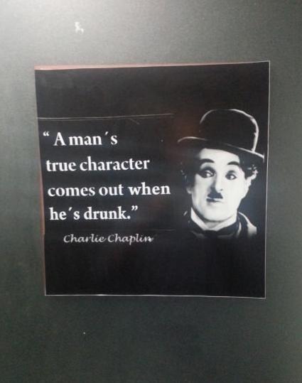 charlie chaplin character man drunk - 7293751040