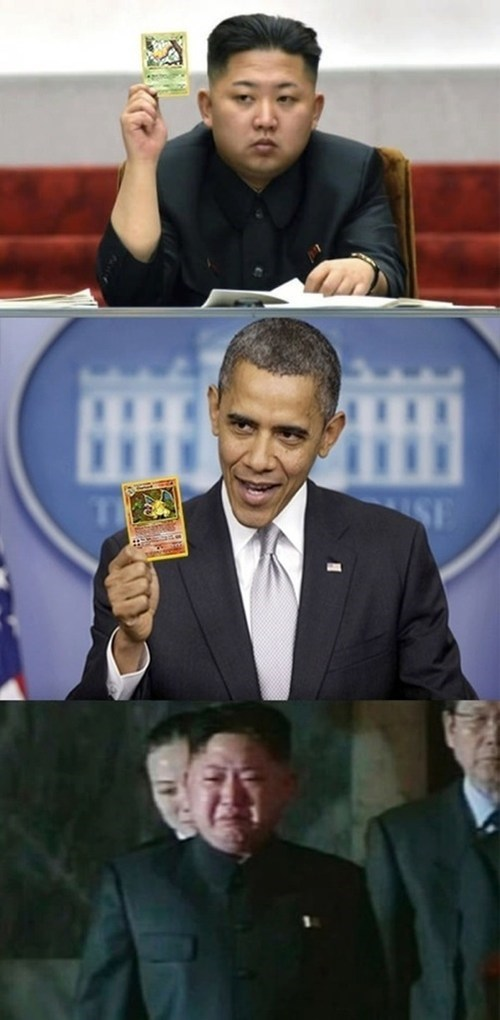 kim jong-un,obama,TCG,North Korea