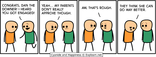 downer cyanide and happiness comics pessimism - 7294284288