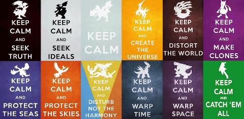 Pokémon Memes keep calm - 7294299648