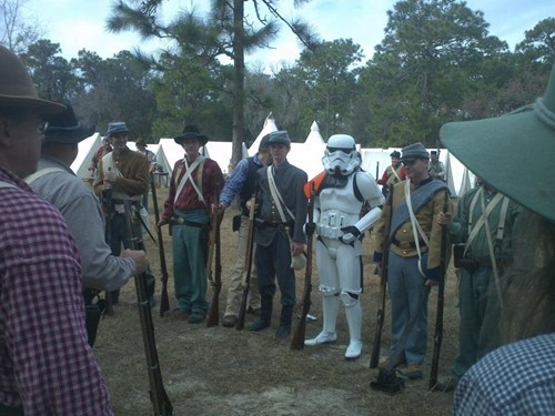 star wars,reenactments,cival war,stormtrooper,poorly dressed,g rated