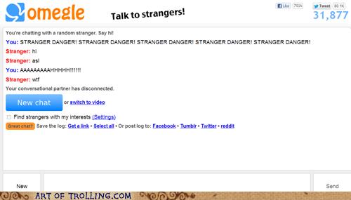 Omegle,stranger danger